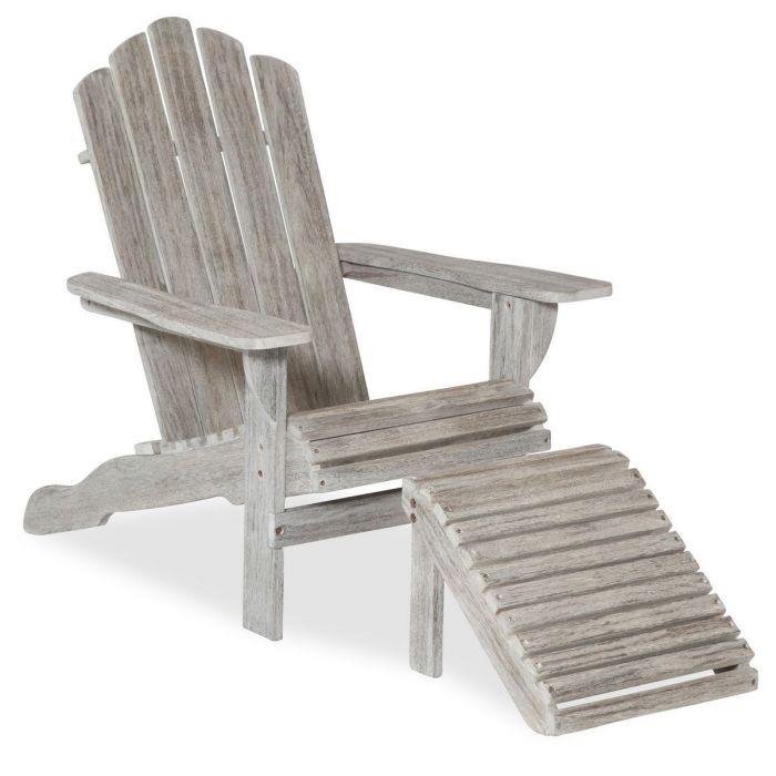 Lsl Outdoor Wood Sun Lounge Chair